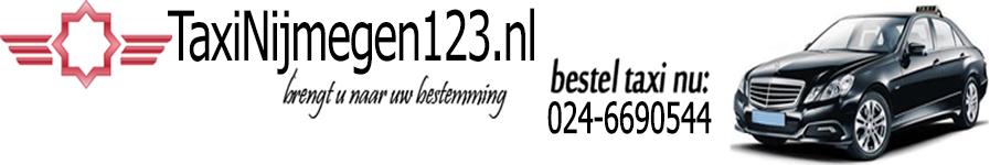 Taxi Nijmegen header image